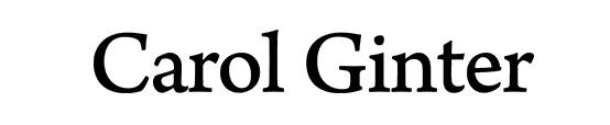 Carol Ginter Logo