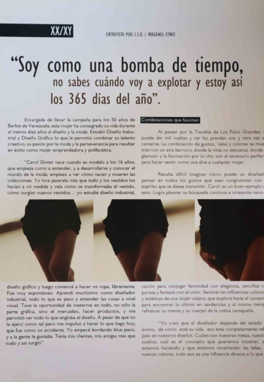 Carol Ginter Prensa Blind 3
