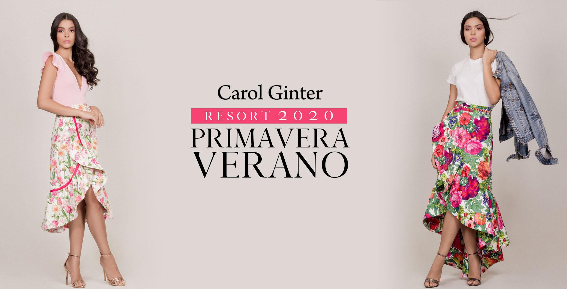 Carol Ginter - Resort 2020 Primavera Verano